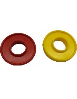 Ροδέλες για ποδοσφαιράκι κίτρινες (τεμάχιο)