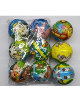 Ελαστική μπάλα Animals & Kids  Φ100