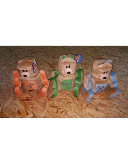 Λούτρινα Αρκουδάκια  (τεμάχιο)